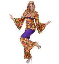 Costume Carnevale Donna Hippie Girl Anni 60 PS 19776 Figli dei Fiori