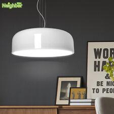 Smithfield Suspension Pendant Light Ceiling Lamp White/Black Shade Lamp Fixture