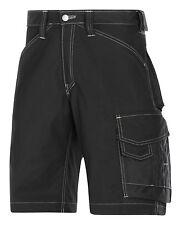 SNICKERS Workwear 3123 Craftsmen Pantaloncini RIP-STOP snickersdirect Nero