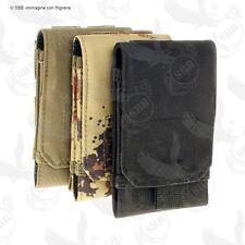 Tasca custodia porta smartphone militare SBB pouch colori vari modulare MOLLE