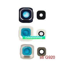 Back Camera TRUE Glass Lens Cover w Frame Holder for Samsung Galaxy S6 G920 USA