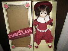 Porcelain Treasures Niki Doll Rare Nib Must See