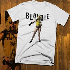 Blondie T-shirt, retro rock music, new wave, punk, '70s, All sizes, soft cotton