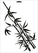 Wandschablone Maler T-shirt Schablone W-055 Bambus ~ UMR Design