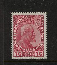 Liechtenstein  2  Mint  catalog  $85.00  KEL1203-1