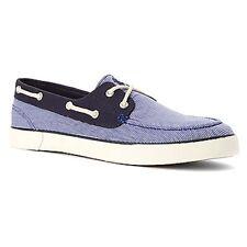 POLO RALPH LAUREN 816543847004 LANDER Mn's (M) Newport Navy Canvas Casual Shoes
