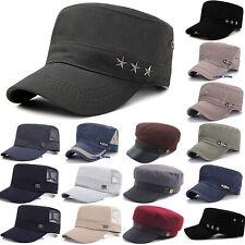e3ae1ca4864 Women Men Military Vintage Baker Boy Peaked Cap Newsboy Beret Hat Travel  Fashion