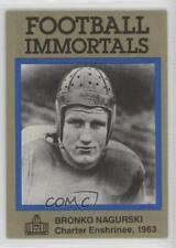 1985 1985-88 Football Immortals #89 Bronko Nagurski Chicago Bears Card