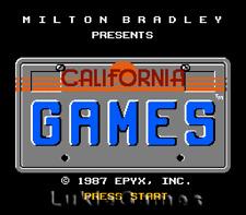 California Games - NES Nintendo Classic Game