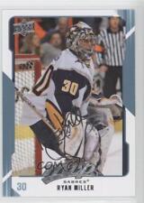 2008-09 Upper Deck MVP #36 Ryan Miller Buffalo Sabres Hockey Card