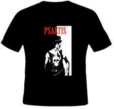 Stathis Psaltis Greece Comedy Funny Joke Black T Shirt
