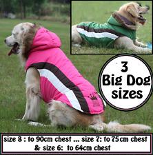 DOG COAT LARGE DOG WARM WINTER BIG DOG JACKET WATERPROOF WINDPROOF HOODY COAT