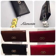 New Ladies Women Leather Zipper Coin Card Long Wallet Clutch Purse Handbag Bag