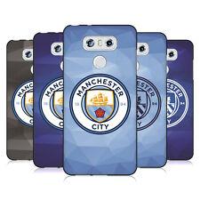 MANCHESTER CITY MAN CITY FC BADGE GEOMETRIC BLACK SOFT GEL CASE FOR LG PHONES