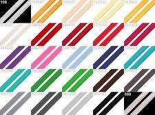 (0,58€/m) - 5m Paspelband - Biesenband - Baumwolle - 12 mm - viele Farben