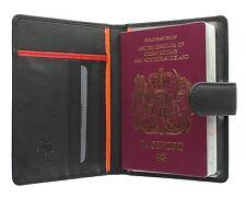 Visconti Bond Raccolta oddjob CUOIO titolare del passaporto con chiusura scheda BD15