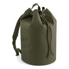 Bagbase Original Drawstring Backpack Mens Womens Bag Gym College School (BG127)