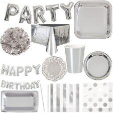 Silver Party Decoration Wedding Anniversary Birthday