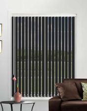 Blackout Black Made To Measure Vertical Blind - Best Price - Full Blind