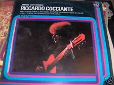 LP RICCARDO COCCIANTE AMARE CON RABBIA LINEA TRE