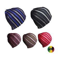 Twister Bonnet Multicolore Rayures Tam Bouchon Couvre-Chef Crâne suffer 1 Sz Fit