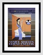 TRAVEL Ferrovia Treno Orient Express VENEZIA Londra Parigi galleria Art Print b12x1670