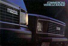 Mazda B1800 Pick Up & E1600 Van 1983-84 UK Market Sales Brochure