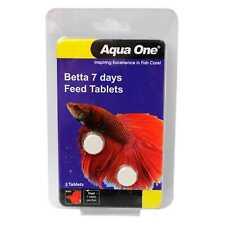Betta 7 Days Feed Tablets 2 Tabs Aquarium 95019 Slow Release Fish Food Aqua One