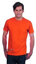 sols hombre camiseta manga corta cuello redondo algodón 3xl 4xl 5xl CAMISETAS