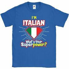Sono ITALIANO-Qual è il tuo superpotere? T-shirt da uomo