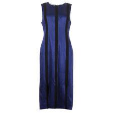 DVF DIANE VON FURSTENBERG Dress Violet & Black Tailored RRP £499 BG