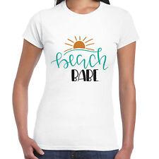 Beach Babe - Ladies T shirt - Summer Gift  Holiday Tee