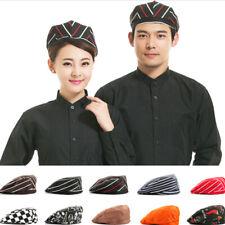 Sale Men Women Kitchen Chef Cap Catering Service Waiter Cooking Beret Hat