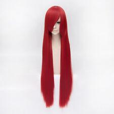 Rot Red Gerade lang Shakugan no Shana Black Butler Grell Cosplay Perücke Wig