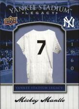 2008 Upper Deck Yankee Stadium Legacy Collection Box Set Baseball Card Pick