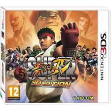SUPER STREET FIGHTER IV 3D Edition Capcom Nintendo 3 DS GRATIS P&P XL 100% COMPLETO