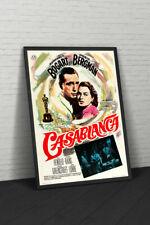 Casablanca 1965 Spanish Movie Poster Framed