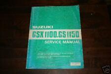 Werkstatthandbuch Suzuki GSX 1100 / GS 1150 Stand 1984