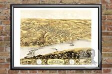 Old Map of Lexington, MO from 1869 - Vintage Missouri Art, Historic Decor