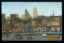 John Kane From My Studio Window Giclee Canvas Print