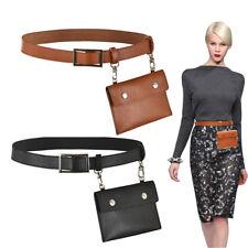 Fashion Girl Women Waist Bag Wallet Handbag Fanny Pack PhoneKey Purse Belt Decor