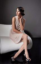 Fiore MARISA 3D Super Elastic Pantyhose 20 Den Tights Hosiery Nylons Soft Silky
