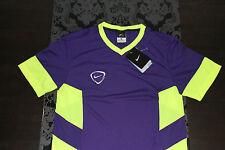 Nike Dri Fit Chemise De Sport Fitness Mauve Jaune Taille S,M/L avec étiquette