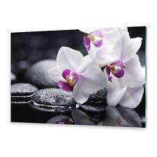 Glasbilder Wandbild Druck auf Glas Orchidee