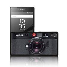 """""""Fotocamera Nero"""" SUPER THIN CASE per SONY XPERIA Z2, Z3, Z5 Nero Cover Rigida"""