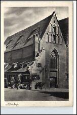 NÜRNBERG Bayern Nuremberg Bavaria ~1940 Gaststätte Bratwurst Glöcklein alte AK