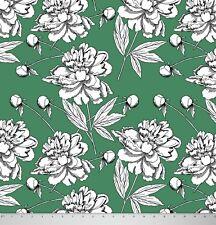Georgette imprimé Floral large tissu indien pour coudre 1 Mtr.-GR-MIN-FL15