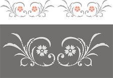 Wandschablone, Malschablone, Schablone, Stupfschablone, Stencils - Friesranke 2