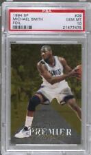 1994-95 SP #29 Michael Smith PSA 10 Sacramento Kings Basketball Card