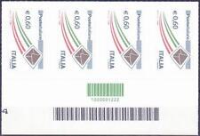 2009 codice barre 1222 Posta ita. busta oro striscia